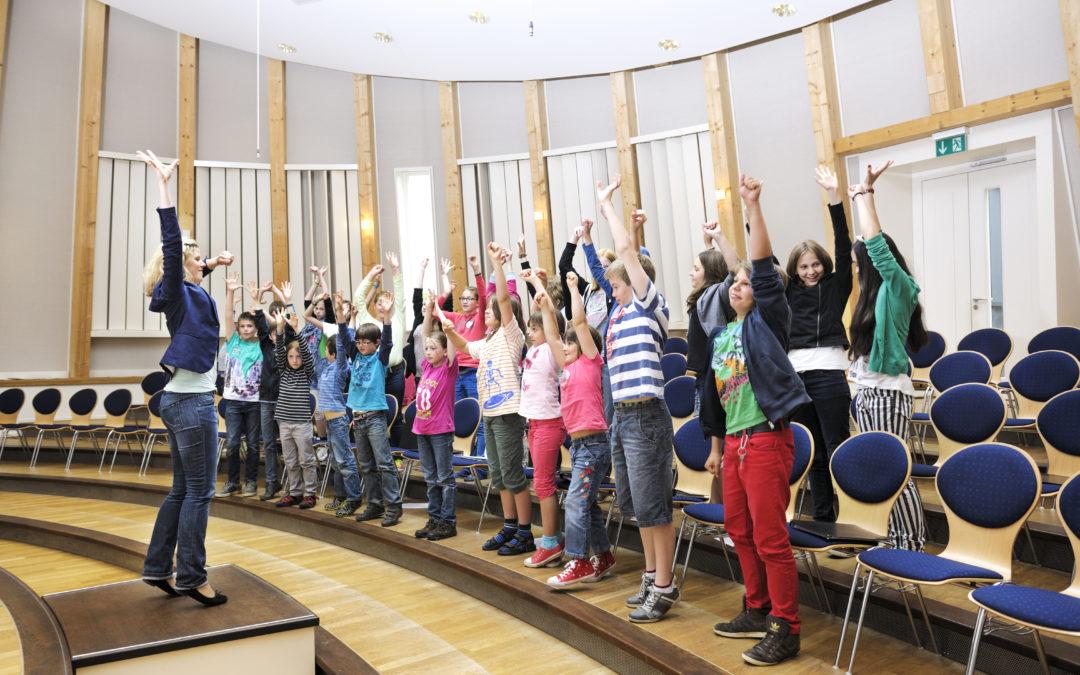 Neue Chorgruppen für Jungen und Mädchen