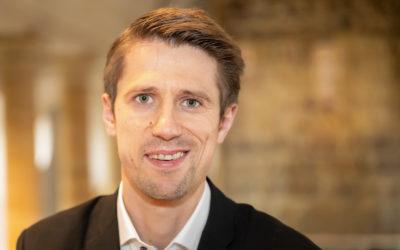 Balthasar Baumgartner ist neuer Domorganist